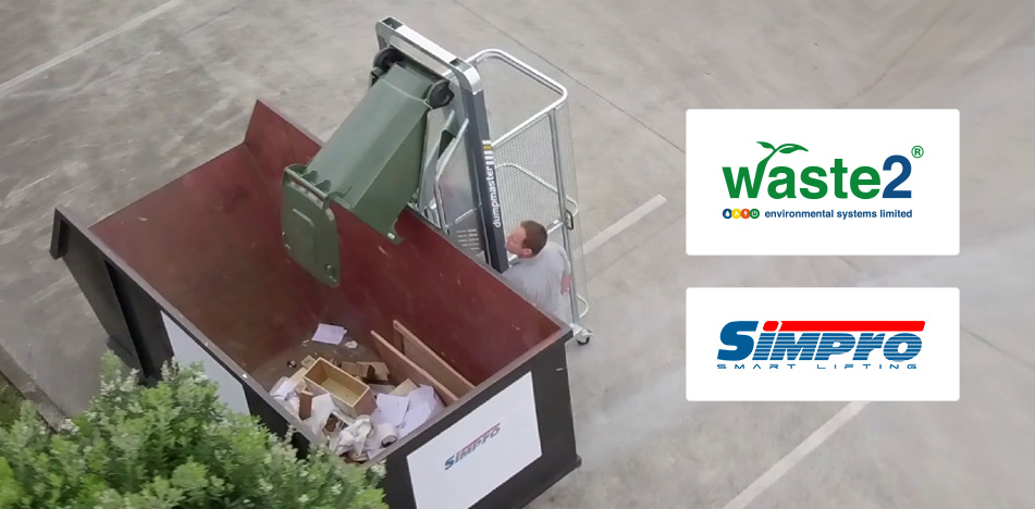 We are now the official UK and Ireland distributor for Simpro Handling Equipment Ltd
